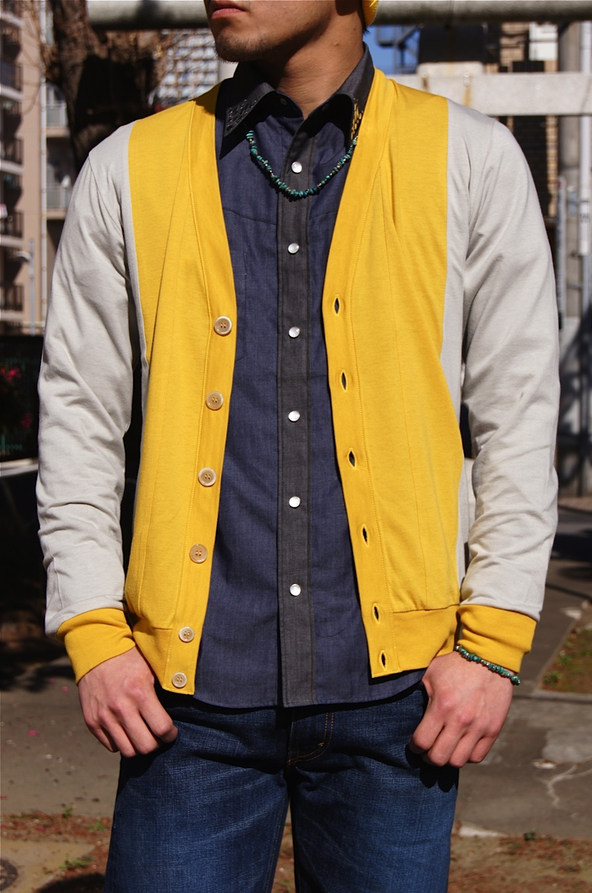 N.HOOLYWOOD - DOUBLE-BREASTED LINE COAT!!_f0020773_2146351.jpg