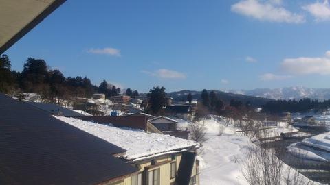 屋根の雪下ろし決行。_d0182179_17341815.jpg