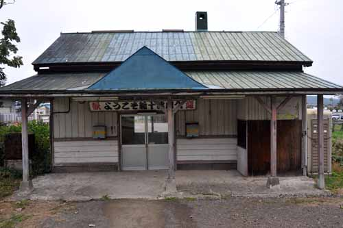 木造駅舎39・新十津川駅の夏と冬_f0173596_10261652.jpg