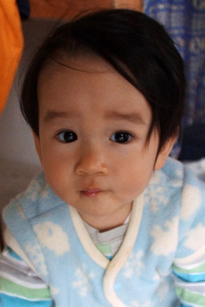4月5日に生まれて300日経ちました。あかちゃんは早起き_f0006713_00391180.jpg