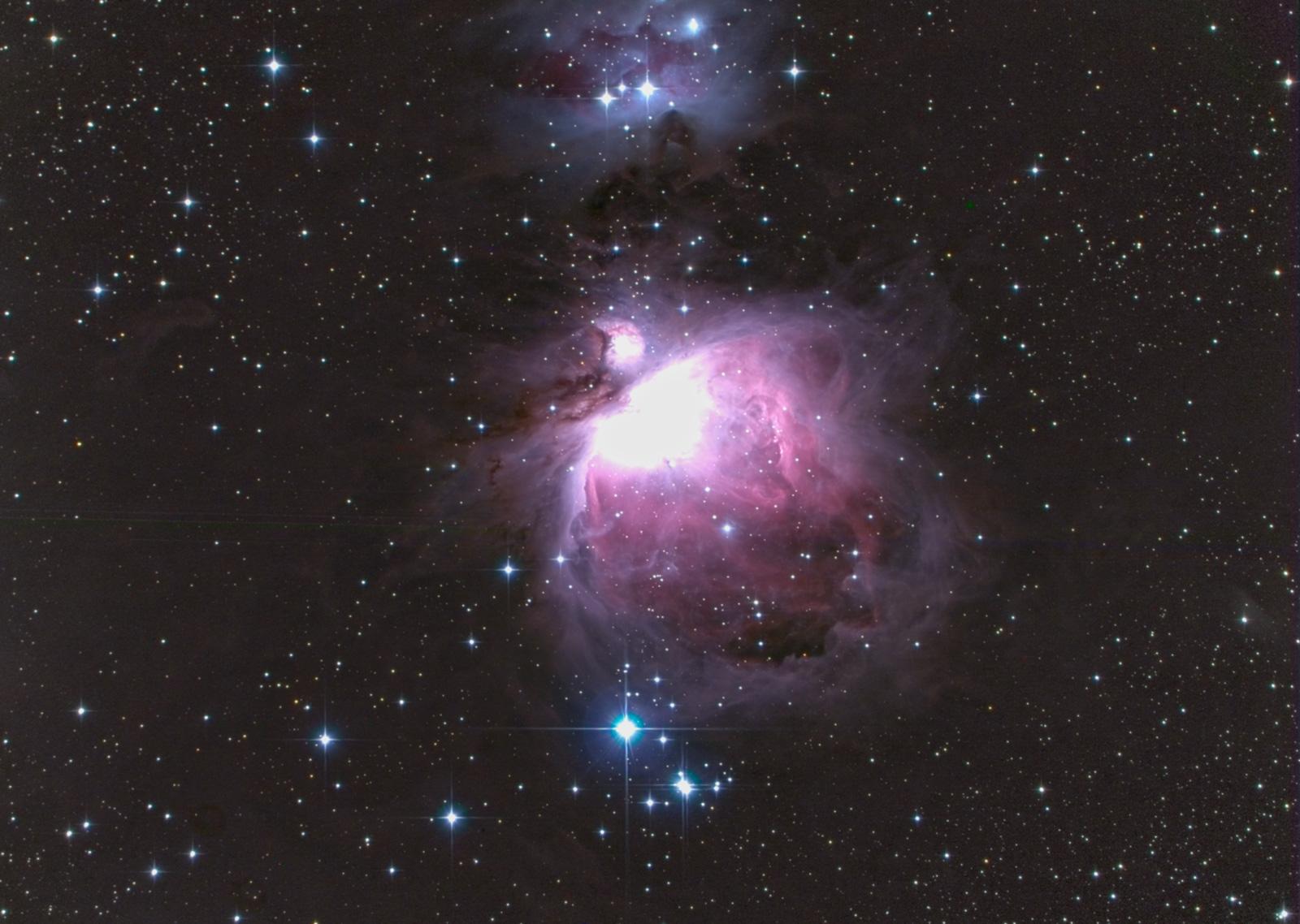 オリオン大星雲(M42、NGC1976)@揖斐_c0061727_22402285.jpg