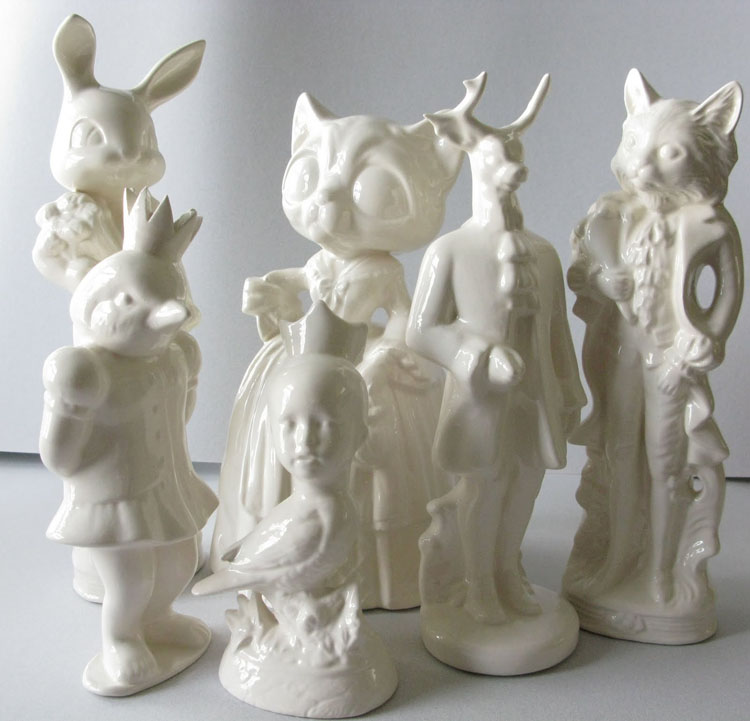 Robin VanValkenburghの擬人陶磁器作品_a0077842_1161149.jpg