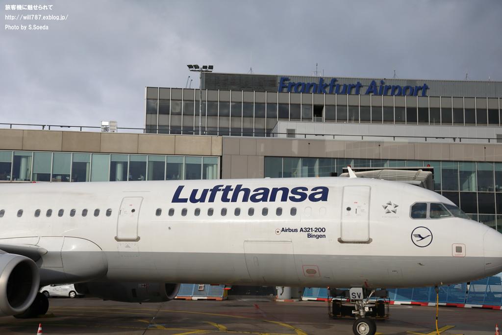 フランクフルト空港見学ツアー 車窓から_d0242350_11391263.jpg