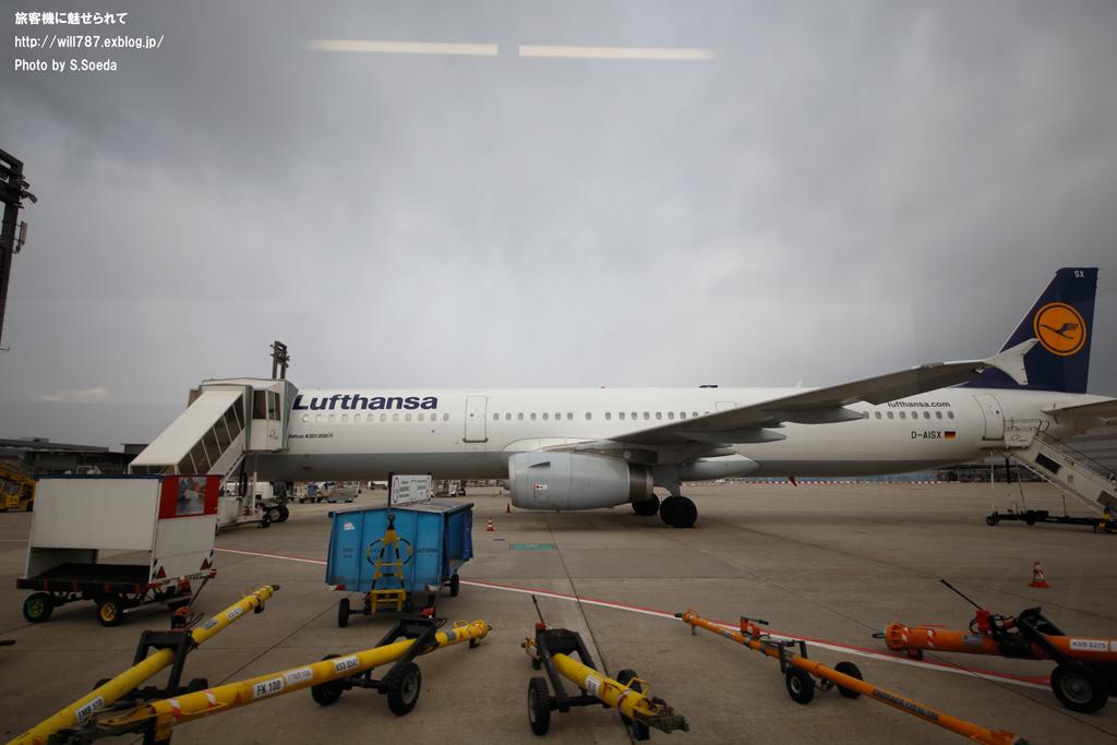 フランクフルト空港見学ツアー 車窓から_d0242350_1140583.jpg