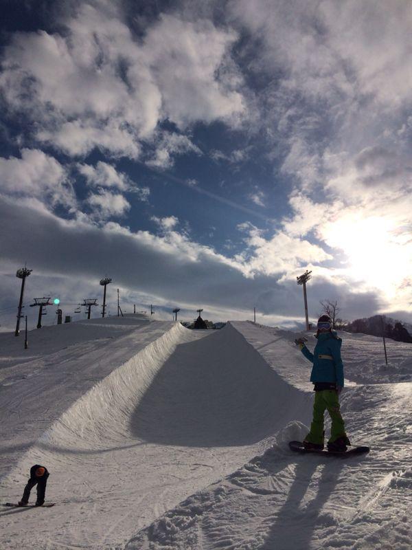 石打丸山スキー場☆_c0151965_2244866.jpg