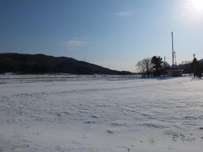 真冬の村 1:ゴロンサービスデー_a0180681_0155343.jpg