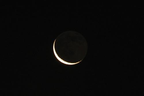 月と金星_e0086798_4114541.jpg