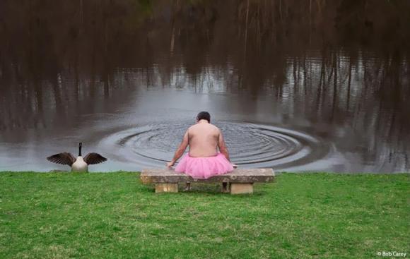 チョッといい話♥ピンクのチュチュを着た裸のおじさんの、心温まるお話と美しい写真に感動。_e0120614_1482697.jpg