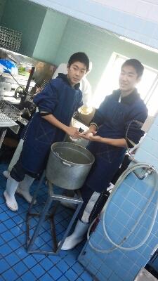 職業体験2014_e0160626_2375667.jpg