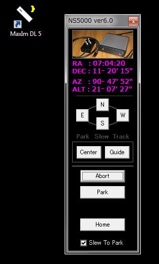 NS5000 ASCOMドライバーを変えてみた_c0061727_17321094.jpg