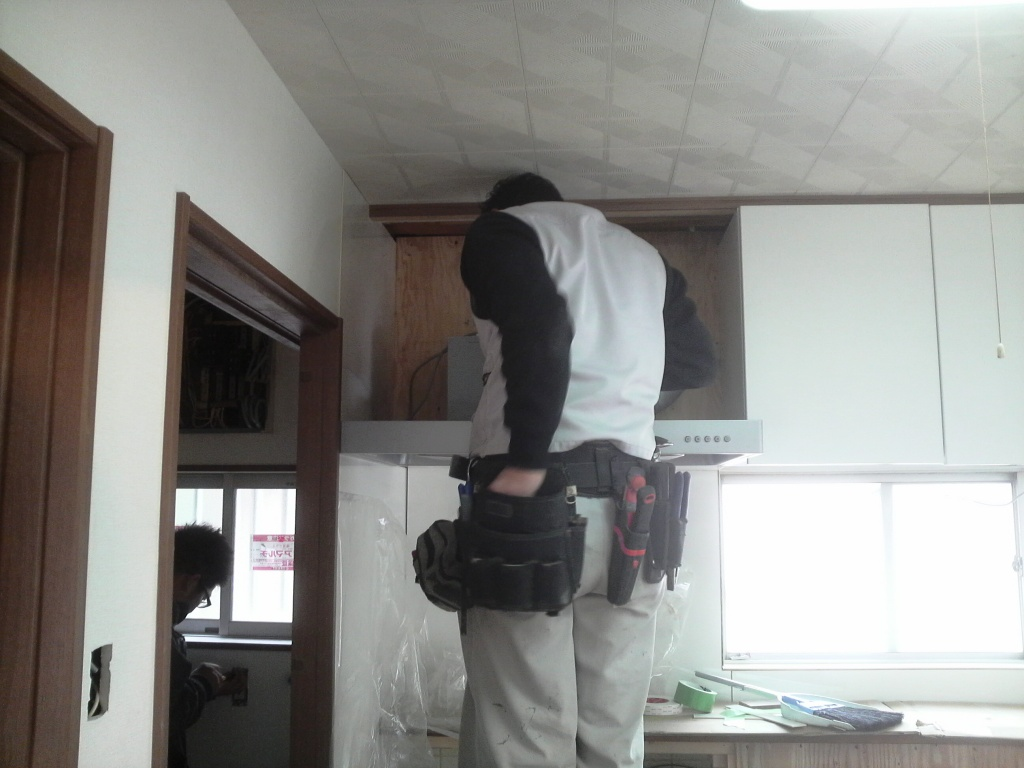 設備器具の取付け O邸耐震改修工事_c0209036_1912242.jpg