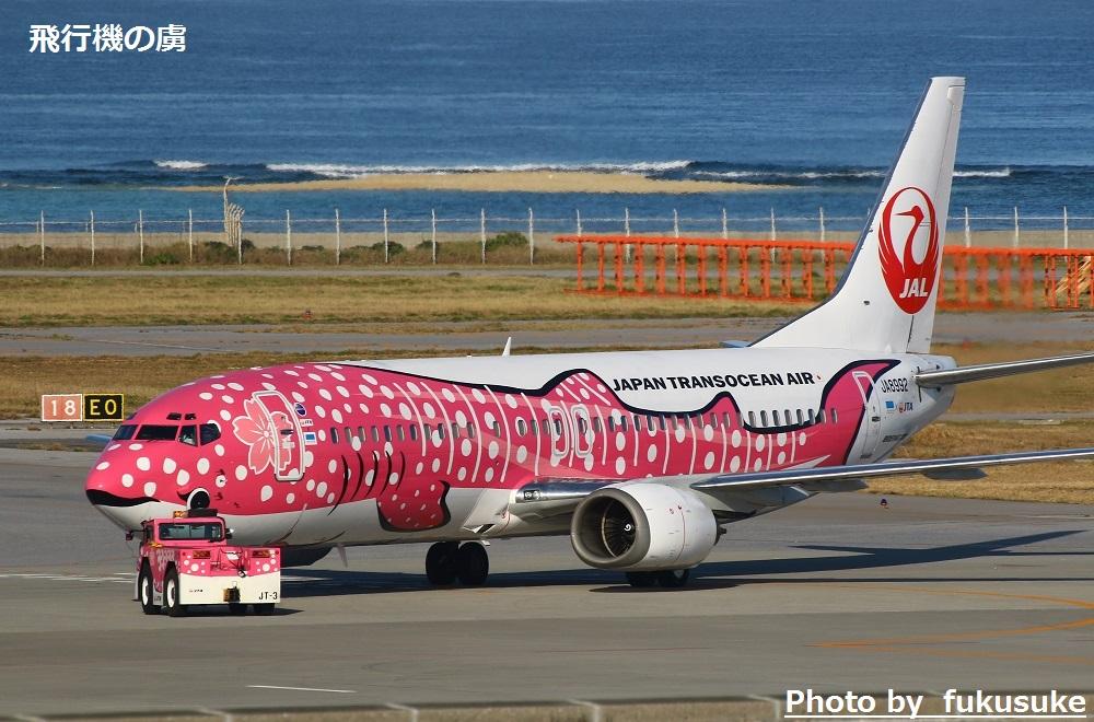 JTAの国際線チャーター便 さくらジンベイで台北へ_b0313338_15220320.jpg