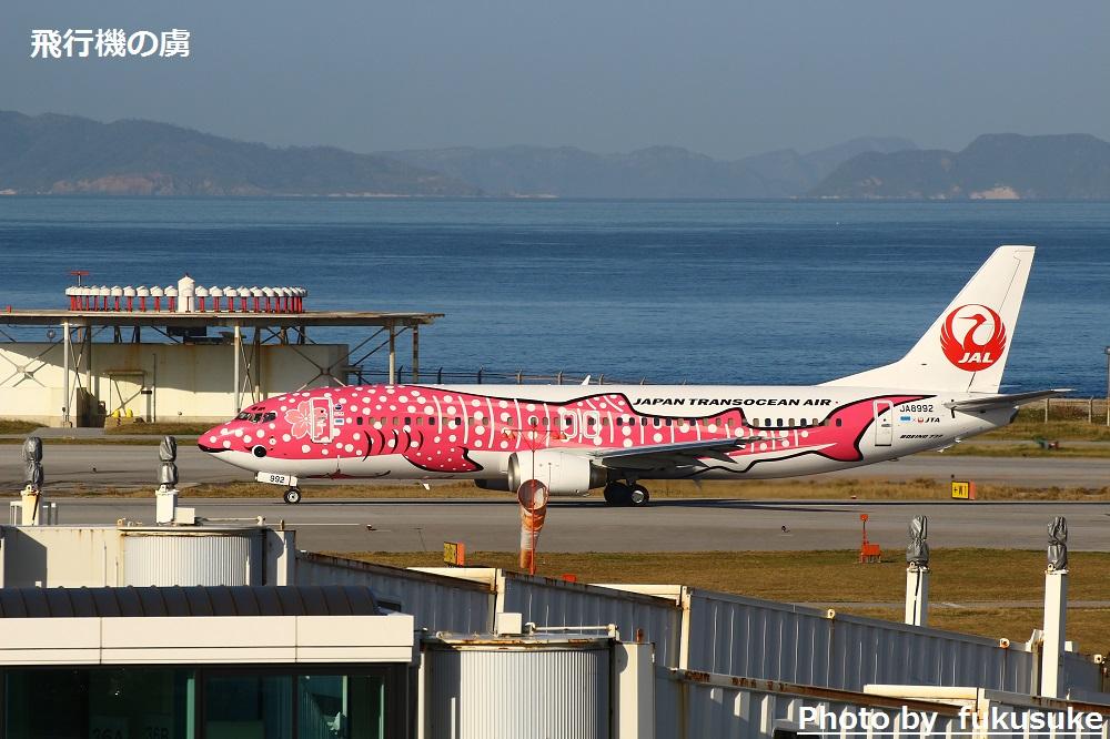 JTAの国際線チャーター便 さくらジンベイで台北へ_b0313338_15220330.jpg