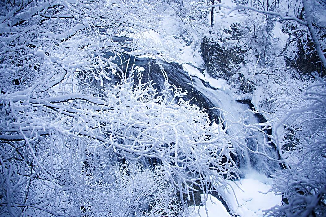 冬景色・・・・関山の大滝_e0271864_19182526.jpg