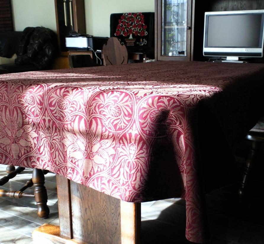 モリスのテーブルクロス_c0157866_14165741.jpg