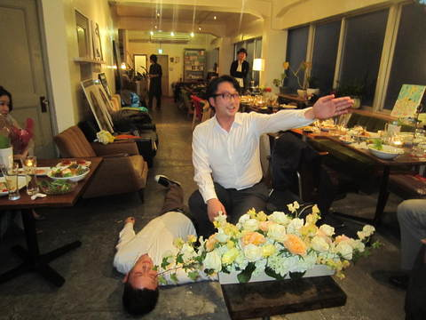 ren & mayu The wedding ceremony second party _e0115904_4231560.jpg