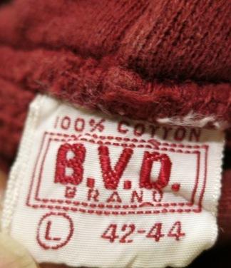 2月2日(日)入荷商品!50-60'S BVD スエットパーカー_c0144020_17431676.jpg