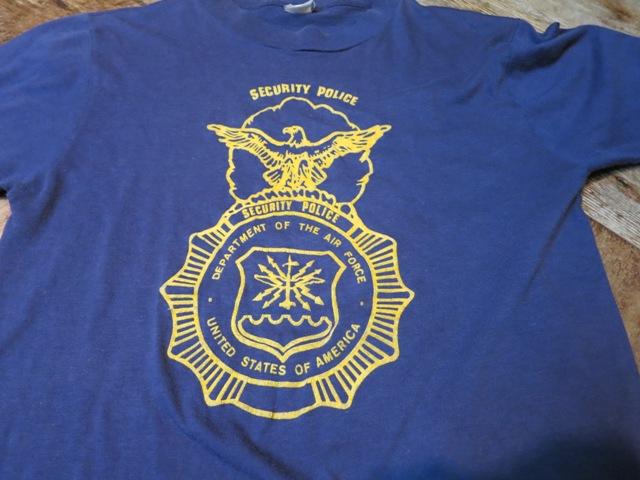 2月2日(日)入荷商品!80'S フロッキープリント! AIR FORCE プリントTシャツ_c0144020_17461020.jpg