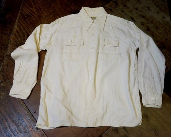 2月2日(日)入荷商品!40'S ロングポイントカラー コットン ピケシャツ _c0144020_17493001.jpg