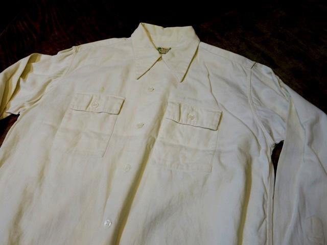 2月2日(日)入荷商品!40'S ロングポイントカラー コットン ピケシャツ _c0144020_17493384.jpg
