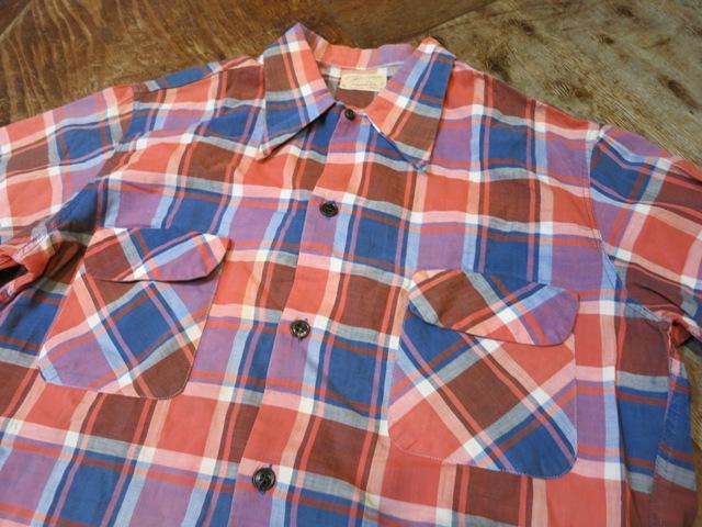 2月2日(日)入荷商品!PENNY'S 40-50\'S コットン シャツ! _c0144020_19063935.jpg