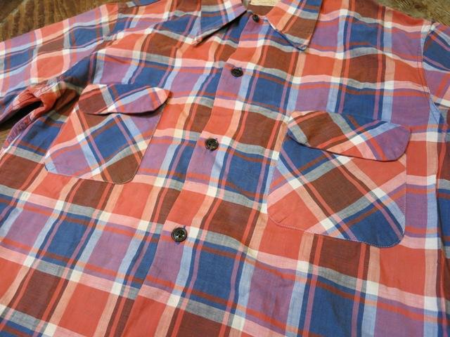 2月2日(日)入荷商品!PENNY'S 40-50\'S コットン シャツ! _c0144020_19064382.jpg