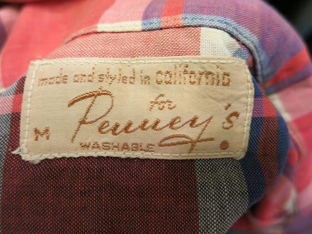 2月2日(日)入荷商品!PENNY'S 40-50\'S コットン シャツ! _c0144020_19112047.jpg