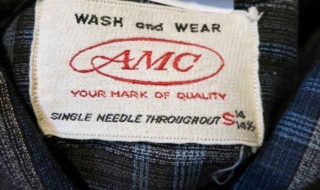 2月2日(日)入荷商品!60'S AMCコットンシャツ!_c0144020_19125968.jpg