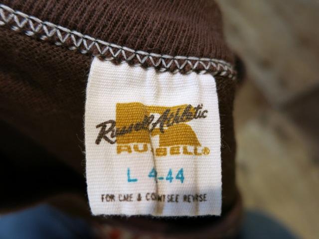 2月2日(日)入荷商品!70'S~ラッセル GOLDタグ Tシャツ!_c0144020_19165677.jpg