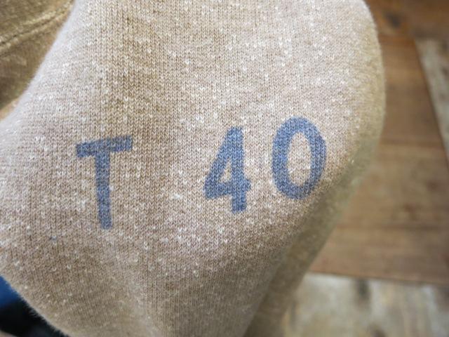 2月2日(日)入荷商品!50'S ツートン B.S.A スエットシャツ!_c0144020_19370840.jpg