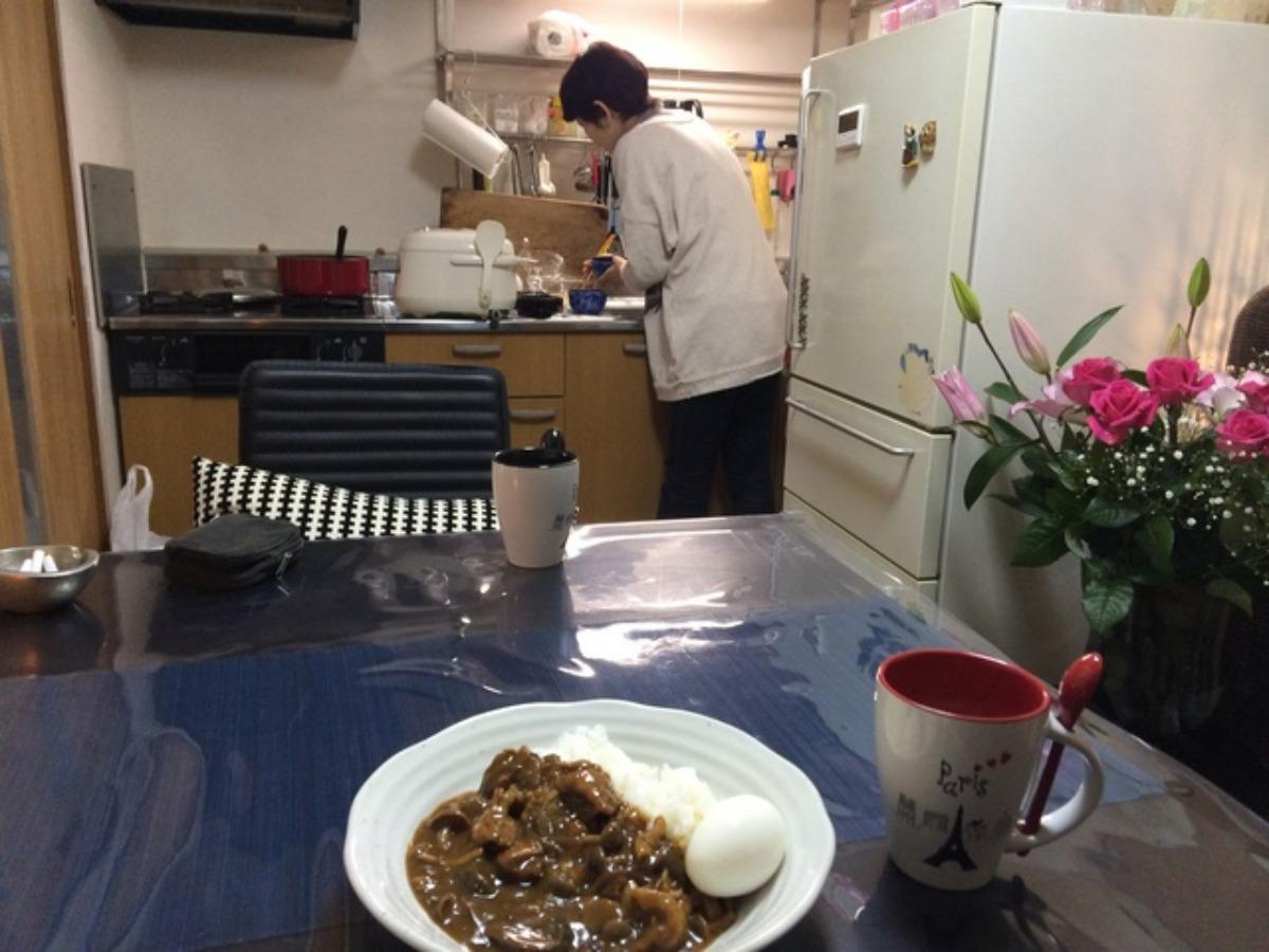 合野さんのカレー_e0048332_19505059.jpg