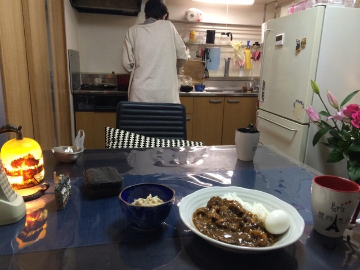 合野さんのカレー_e0048332_19505610.jpg