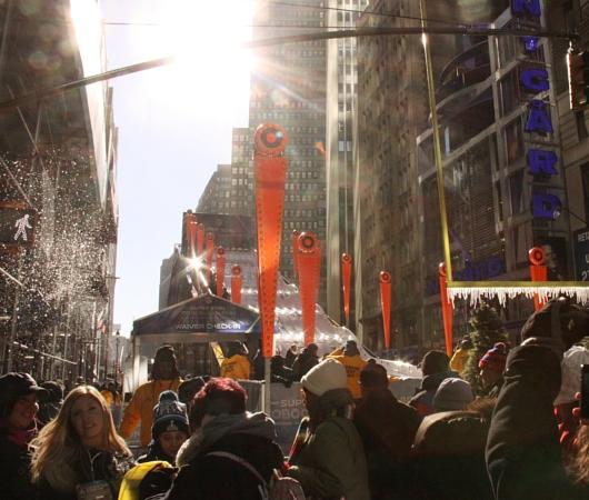 NYのタイムズ・スクエアに巨大ゲレンデ(滑り台)登場中_b0007805_131248.jpg