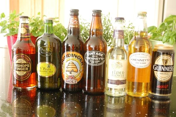 イギリス料理でおもてなしなのだ♪【スナック&地ビール、サイダー編】_d0104926_23563053.jpg