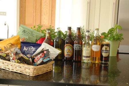 イギリス料理でおもてなしなのだ♪【スナック&地ビール、サイダー編】_d0104926_2357285.jpg