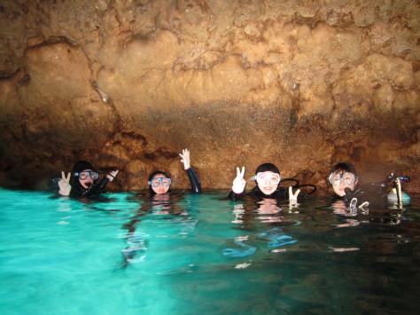 2月2日ジンベエザメ&青の洞窟、大成功!!_c0070933_23352043.jpg
