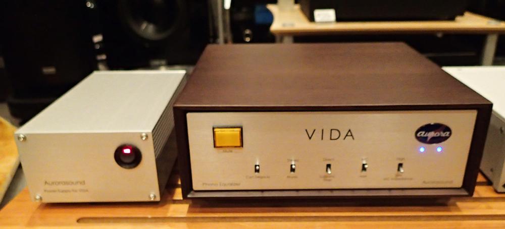 Aurora sound  Vinyl Disk Amplifire VIDA  店頭に入荷_b0262449_21143342.jpg