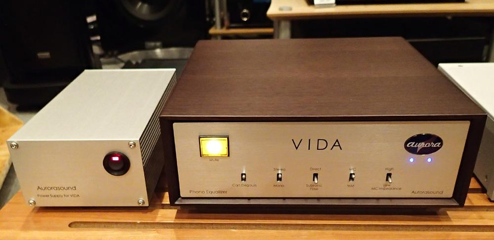 Aurora sound  Vinyl Disk Amplifire VIDA  店頭に入荷_b0262449_21144635.jpg
