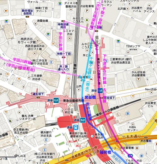 渋谷川暗渠、2度めの移設_c0163001_23573813.jpg