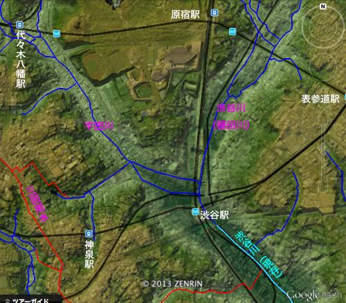 渋谷川暗渠、2度めの移設_c0163001_2357682.jpg