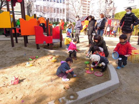 1月22日は園庭開放でした。_d0053323_175336.jpg