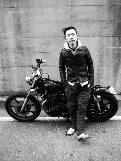 山内 陽介 & kawasaki Z400LTD(2014 0126)_f0203027_20514045.jpg