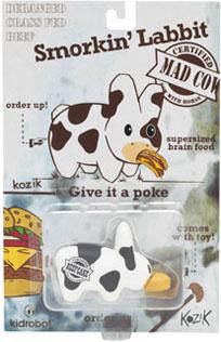 Smorkin Labbit Blister Packs: Mad Cow by Kozik_e0118156_2210503.jpg
