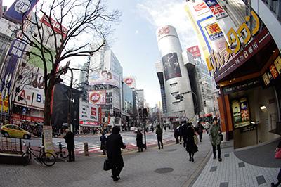 2月3日(月)の渋谷109前交差点_b0056983_13531645.jpg
