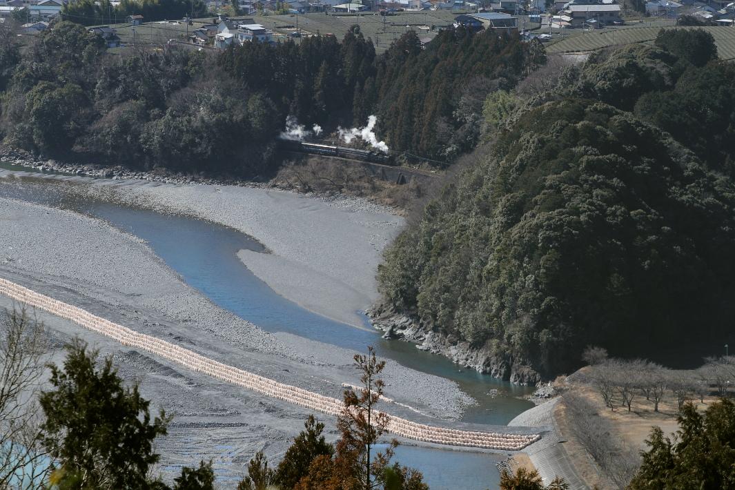 大井川の白煙 - 2013年・大井川 -  _b0190710_234684.jpg