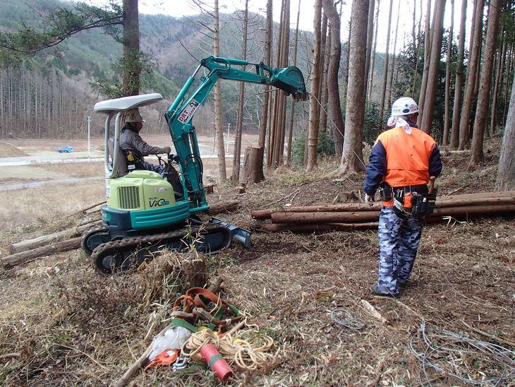 雄勝に東屋用の追加木材採り_e0332549_14184135.jpg