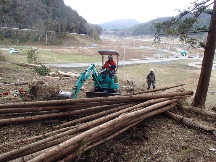 雄勝に東屋用の追加木材採り_e0332549_14231994.jpg