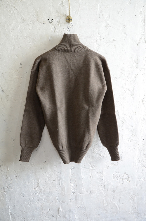 Italian army half zip knit dead stock_f0226051_1311777.jpg