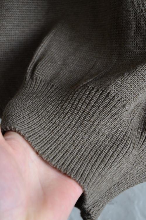 Italian army half zip knit dead stock_f0226051_13121698.jpg