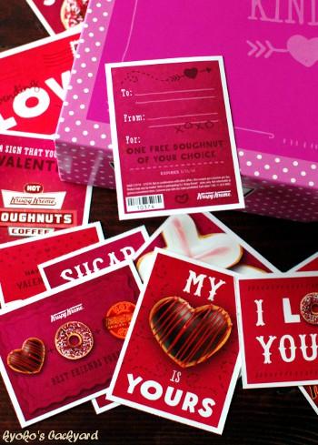 クリスピークリームのバレンタインカード 2014_b0253205_2184787.jpg